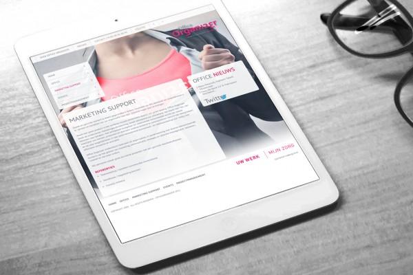 Visualisatie voor tablet
